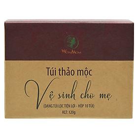 Thảo Dược Xông Vùng Kín Cho Mẹ Bầu Và Sau Sinh (10 túi/ 10 lần xông) Wonmom