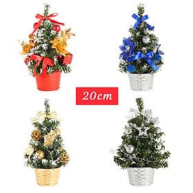 Cây thông Noel mini để bàn trang trí Giáng sinh  - 30cm