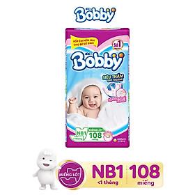Miếng lót siêu thấm Bobby Newborn 1 - 108 miếng