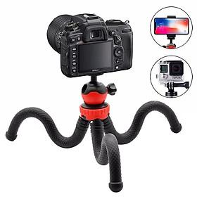 Giá đỡ điện thoại/máy ảnh Selfiecom MT04 dạng tripod 3 chân bạch tuộc uốn dẻo - Hàng chính hãng