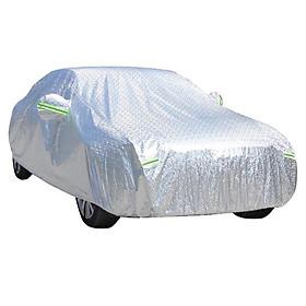Bạt Phủ Ô tô dành cho các loại xe 4 Chỗ, 7 Chỗ, Bán Tải - Hàng Chính Hãng - Quà Tặng Cây Thông Thơm Treo Xe