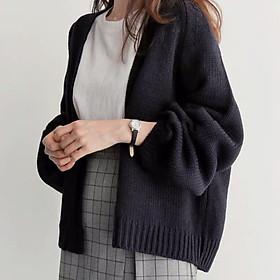 Áo khoác cardigan len dày cho nữ