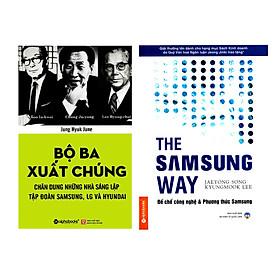Combo Sách Kinh Tế Hay : Bộ Ba Xuất Chúng Hàn Quốc + The Samsung Way - Đế Chế Công Nghệ Và Phương Thức Samsung