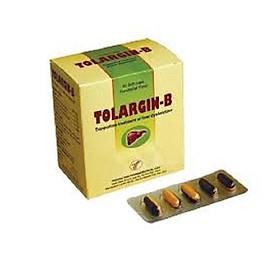 Thực phẩm chức năng TOLARGIN B chứa Arginin giúp bổ gan, hạ men gan, bảo vệ tế bào gan. Tặng kèm bọt biển rửa mặt cao cấp