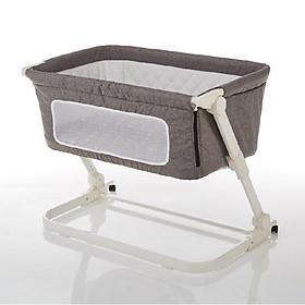 Nôi cũi ghép chung giường bố mẹ, có thể gập gọn và nâng hạ độ cao Mastela PL506 - tiêu chuẩn ASTM Mỹ