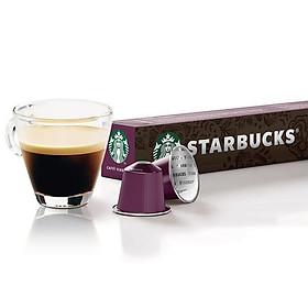 Viên cà phê tổng hợp Starbucks Forona (10 viên/ hộp; thích hợp cho máy pha cà phê viên nén Nespresso)