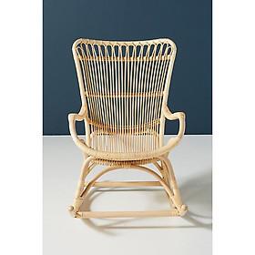 Ghế Mây Bập Bênh Thư giãn Phong Cách Vintage-  Rattan Rocking Chair - CH0001