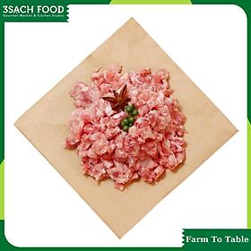 Thịt Xay Heo Monang (bán theo gói 500gr) - Không chất tạo nạc - Thịt tươi trong ngày