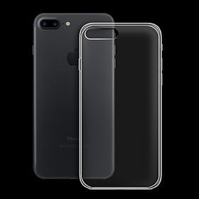 Ốp lưng cho Apple Iphone 7 Plus/Iphone 8 Plus - 01014 - Ốp dẻo trong - Hàng Chính Hãng