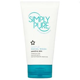 Sữa rửa mặt cho da nhạy cảm Superdrug Simply Pure Gentle Facial Wash