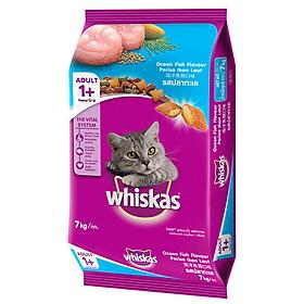 Đồ Ăn Cho Mèo Vị Cá Biển Whiskas Dạng Bao (7kg)