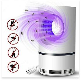 Đèn bắt muỗi và diệt côn trùng thông minh, nhỏ gọn, đèn led xoay 360, hiệu quả vượt trội