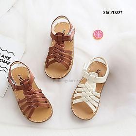 Giày sandal cho bé gái phong cách Hàn Quốc cho bé từ 1 - 6 tuổi PD357