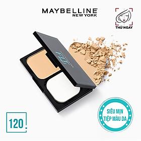 Phấn Nền Kiềm Dầu Chống Nắng Tiệp Mọi Tông Da SPF 32 PA+++ Fit Me Skin-Fit Powder Foundation Maybelline New York 9g