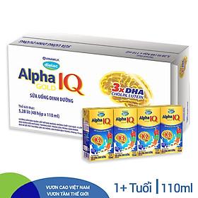 Thùng 48 Hộp Sữa Bột Pha Sẵn Vinamilk Dielac Alpha Gold IQ 110ml