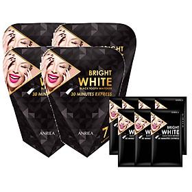 Miếng Dán Trắng Răng ANRIEA Bright White - Liệu Trình 28 Ngày Tặng 7 Miếng Dán Lẻ