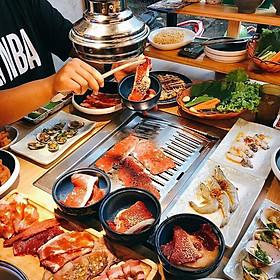 Urban BBQ - Buffet Trưa Nướng Lẩu The Real All In One 5 Vị Lẩu-Hơn 130 Món Hải Sản, Bò Mỹ Nước Uống Không Giới Hạn Từ Thứ 2 Đến Thứ 6