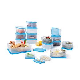 Bộ hộp trữ đông thực phẩm Tupperware (8 hộp)