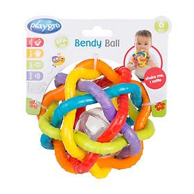 Đồ chơi xúc xắc bóng xoắn Playgro Bendy Ball, cho bé 6-36 tháng