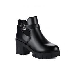 Giày Boot nữ thời trang 095BD (Đen)