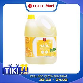 Nước Rửa Chén Haru Chanh Choice L (CL) (4Kg)