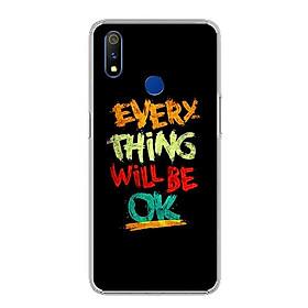 Ốp lưng cho Realme 3 Pro - 0198 EVERYTHINGOK - Silicone dẻo - Hàng Chính Hãng