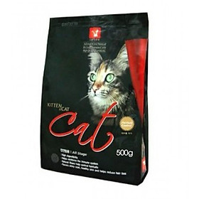 Thức ăn hạt Hàn Quốc trị búi lông cho mèo - Cat's Eye Kitten&Cat
