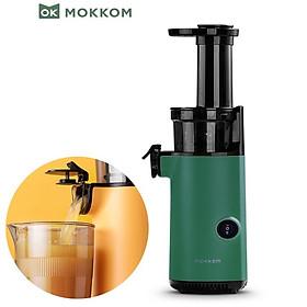 Máy ép trái cây tốc độ chậm cầm tay thương hiệu Mokkom MK-SJ001 công suất 130W, thiết kế nhỏ gọn - Hàng Nhập Khẩu