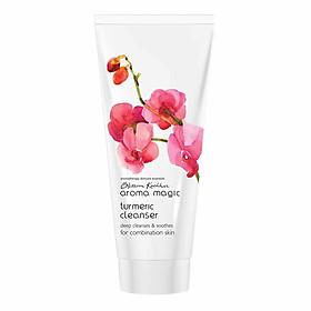 Sữa rửa mặt và tẩy trang Aroma Magic - Turmeric Cleanser - 100gm