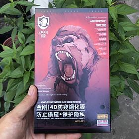 Kính Cường Lực Chống Nhìn Trộm KingKong Dành Cho iPhone X/ XS/ XS Max - 11/ 11Pro/ 11Pro Max - Dán Full Màn - Hàng chính hãng