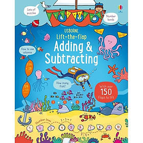 Usborne Lift the Flap Adding and Subtracting