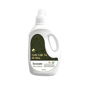 Nước giặt xả hữu cơ Bồ Hòn tinh dầu Hoa Bưởi chai 2000ml