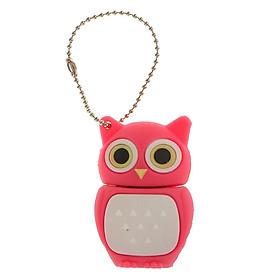 Sunnimix Đèn LED Cổng USB Thẻ Nhớ Người Phụ Nữ Tặng Cú Hình Ngón Tay Cái Bút Đĩa 8GB