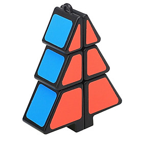 Tailored Magic Cube 1X2X3 Christmas Tree Cube Puzzle Ultra-Smooth Magic Puzzle Xmas Gifts