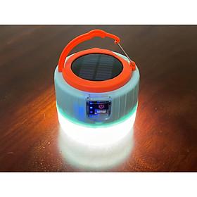 Đèn led tích điện năng lượng mặt trời tích hợp chức năng sạc dự phòng