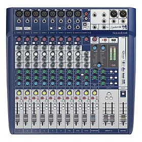 Bộ Trộn Âm Thanh Soundcraft Signature 12 EU Mixing
