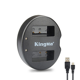 Sạc Kingma LP E8 cho pin máy ảnh Canon 550D, 600D, 650D, 700D...- Hàng chính hãng