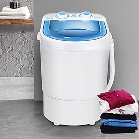 Máy giặt mini bán tự động , giặt đồ trẻ e không gây tiếng ồn