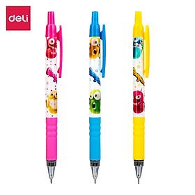 Bút chì kim Deli - 0.5mm/0.7mm - Nhiều màu sắc, họa tiết  - Màu ngẫu nhiên - EU60200 / EU60400 / EU60800