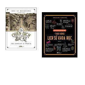 Combo 2 cuốn sách: Một chiến dịch ở Bắc Kỳ  + Kiến thức căn bản cần biết - Theo dòng lịch sử khoa học