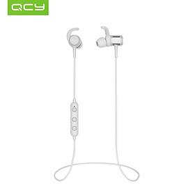 Tai nghe nhét trong âm thanh nổi không dây BT từ tính có điều khiển âm lượng micrô cho di động Android iOS QCY M1c Dual In-ear Earphone