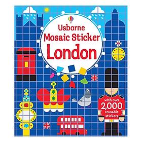 Usborne Mosaic Sticker London