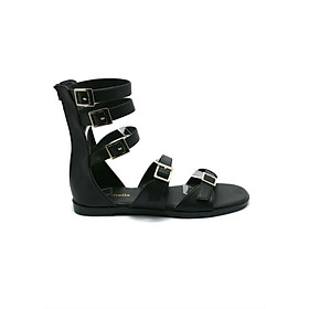 Giày Sandal Nữ Chiến Binh Cindydrella C124D - Đen