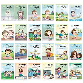 Tủ sách Phát triển Kỹ năng Sống vui, sống khỏe (24 cuốn)