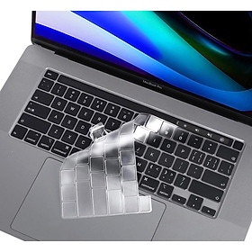 Miếng Phủ Bàn Phím Dành Cho MacBook Pro 2019 16 inch TPU Silicon Chống Nước, Chống Bụi Bẩn Hàng Chính Hãng Helios