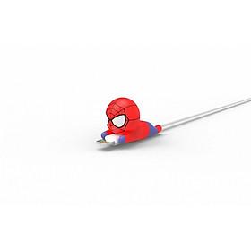 Nút Gắn Bảo Vệ Dây Cáp Sạc Điện Thoại Hình Người Nhện Spiderman