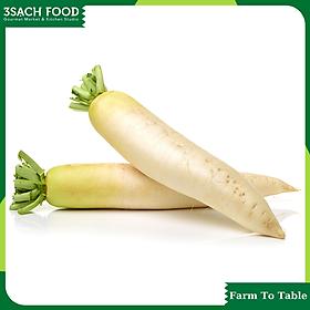 Củ cải trắng (300gr/gói) - Chuẩn An Toàn VietGap