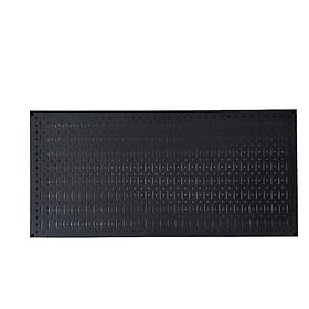 Vách lưới pegboard treo tường treo dụng cụ màu đen
