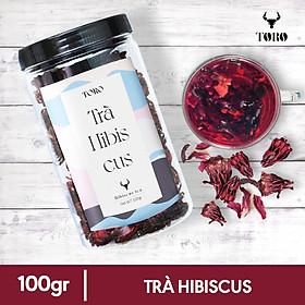 Trà Hoa Hibicus Sấy Khô - 100GRAM - TORO FARM - TORO COFFEE