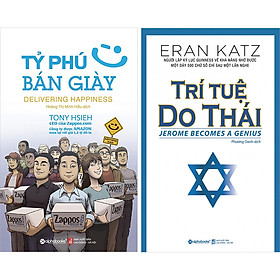 Combo 2 Cuốn: Tỷ Phú Bán Giày - Trí Tuệ Do Thái